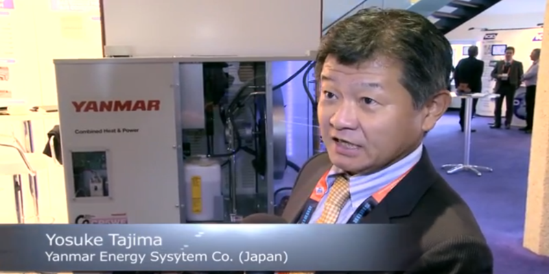 Interview with Yosuke Tajima of Yanmar Energy Systems Co. at the World LP Gas Forum 2013