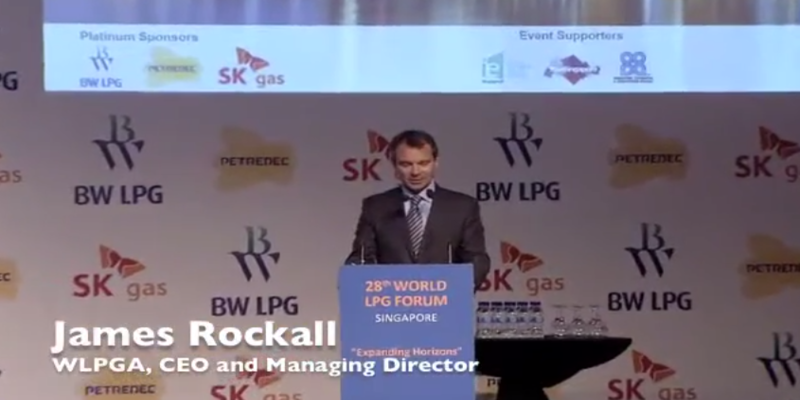 Welcome Remarks by James Rockall at the 28th World LPG Forum