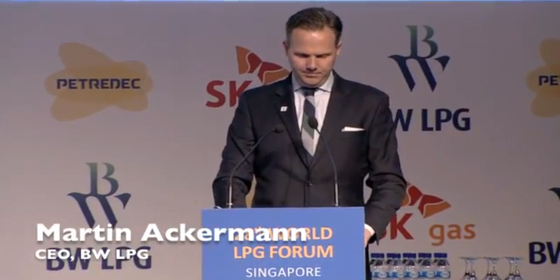 Welcome Remarks by Martin Ackermann at 28th World LPG Forum