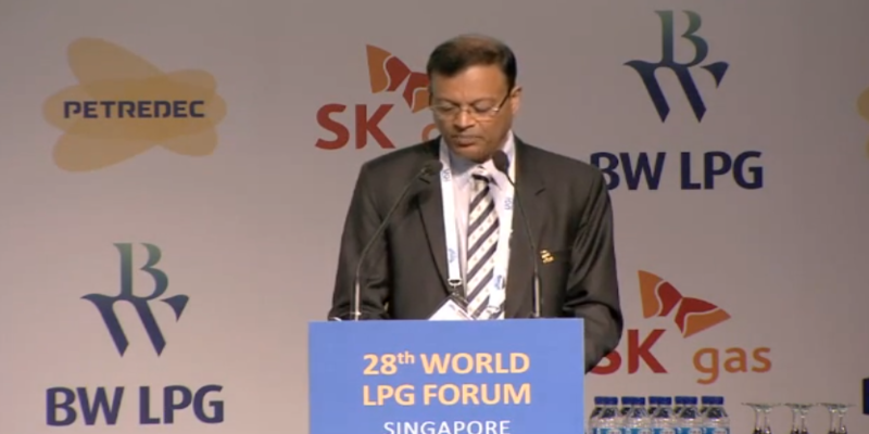 Mr B Ashok, Chairman Indian Oil Corporation – Keynote Address at the 28th World LPG Forum