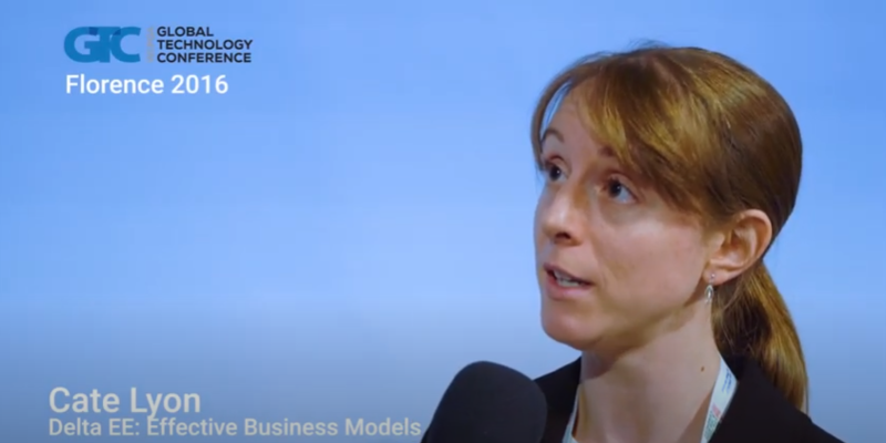 Interview with Cate Lyon of Delta EE at the GTC 2016