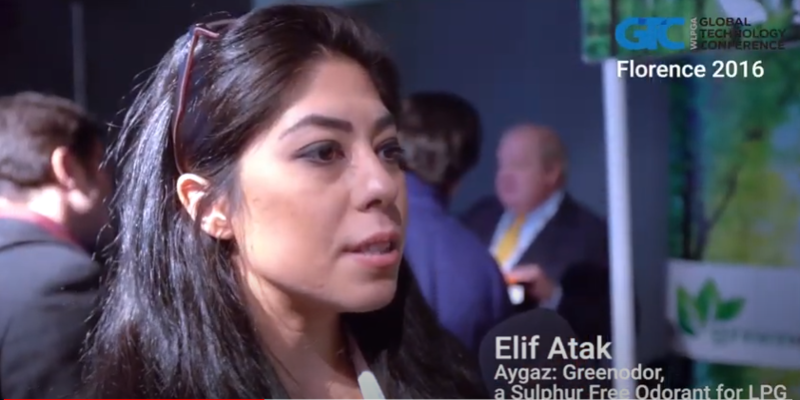 Interview with Elif Atak of Aygaz at the GTC 2016