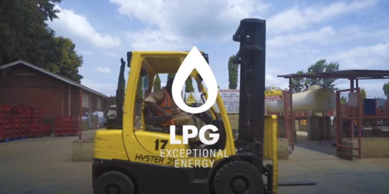 LPG Fork Lift Trucks – Power Without Pollution