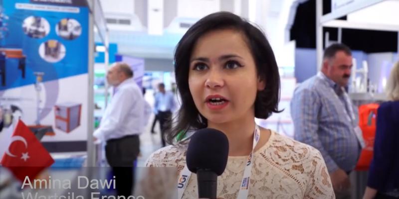 Amina Dewani, Wartsila France – Testimonial from the 30th World LPG Forum in Marrakech