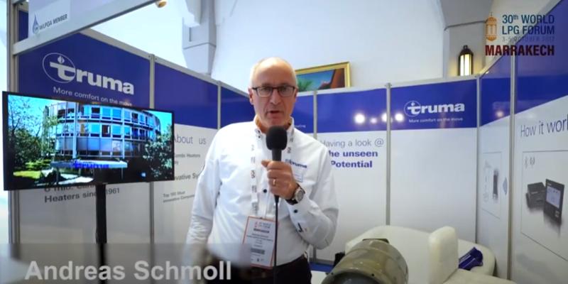 Andreas Schmoll, Truma – Testimonial from the 30th World LPG Forum