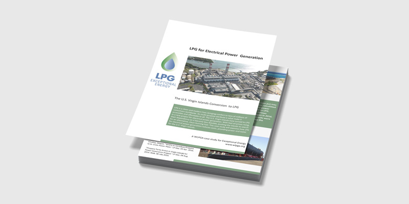 The U.S. Virgin Islands Conversion to LPG for Electrical Power Generation