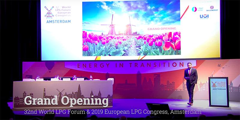 32nd World LPG Forum & 2019 European LPG Congress – Grand Opening