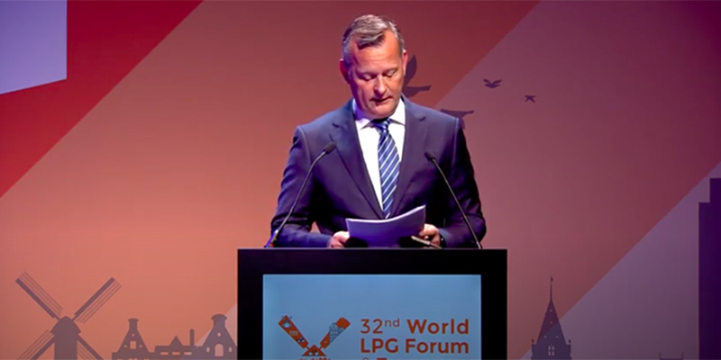 32nd World LPG Forum & 2019 European LPG Congress – Keynote Mr Arthur van Dijk
