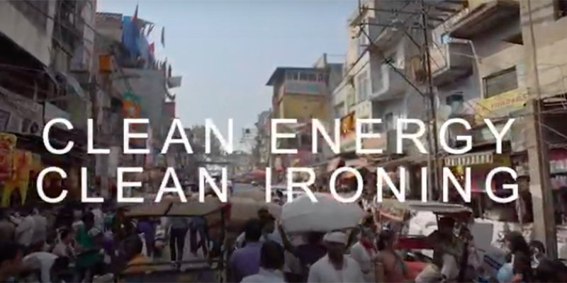 Clean Energy Clean Ironing