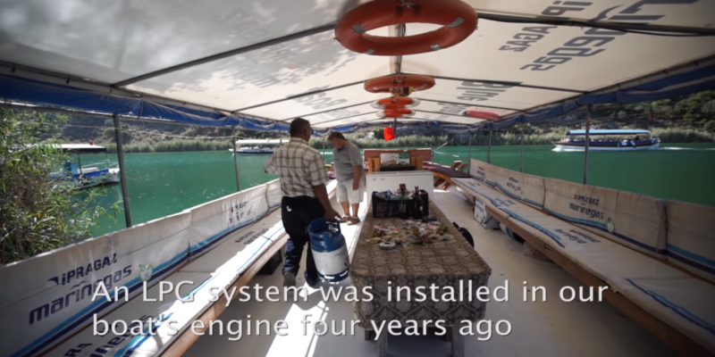 LPG for a Clean Marine Environment in Turkey
