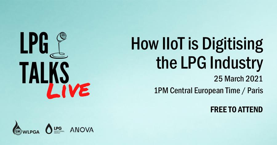 LPG Talks Live Free Webinar: How IIOT is Digitising the LPG Industry