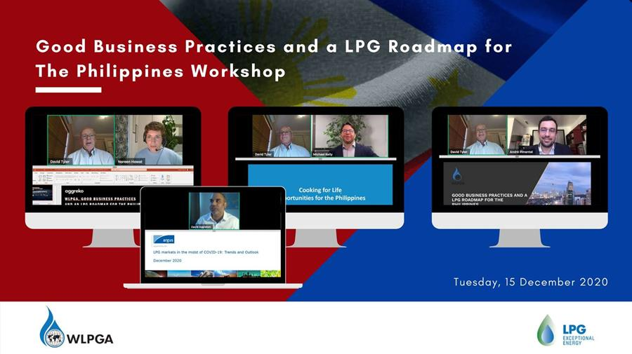 Webinar Workshop – Good Business Practices and an LPG Roadmap for The Philippines