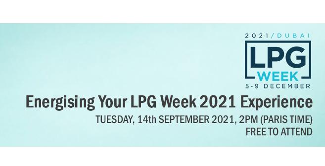LPG Talks Live Webinar – Energising your LPG Week 2021 Experience